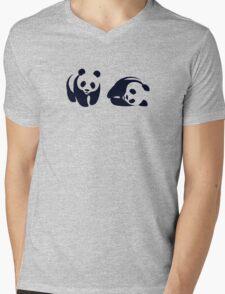 wwf funny logo Mens V-Neck T-Shirt