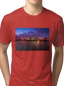 Canary Wharf 2 Tri-blend T-Shirt