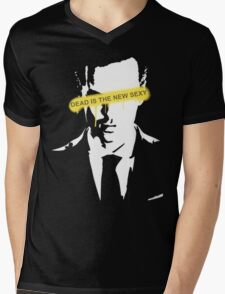 Jim Moriarty Dead is the new sexy Mens V-Neck T-Shirt