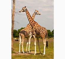 Giraffes at the Branfere Park in Brittany France Unisex T-Shirt
