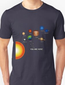 Space Solar System Funny T-Shirt Unisex T-Shirt