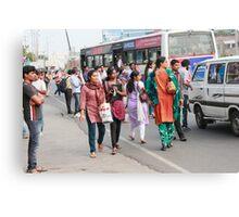 Rush Hour Cyber City Hyderabad Canvas Print