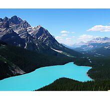 Incredible Peyto Lake Photographic Print