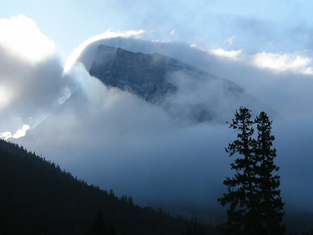 Winter In Banff by davidandmandy