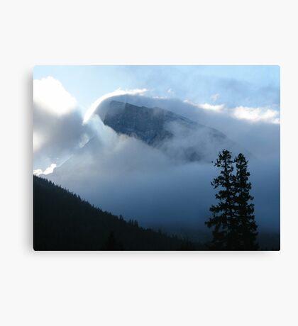 Winter In Banff Canvas Print