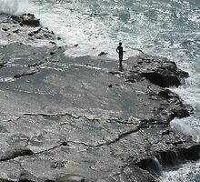 Cliff Fishing In Japan by davidandmandy