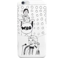 Doctor WHO Band iPhone Case/Skin