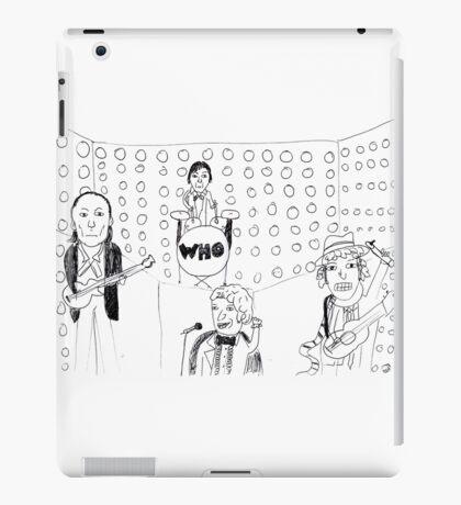 Doctor WHO Band iPad Case/Skin