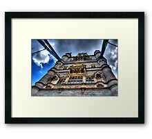 A View Of Tower Bridge Framed Print