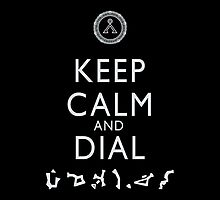 Keep Calm and Dial Earth by boogiebus