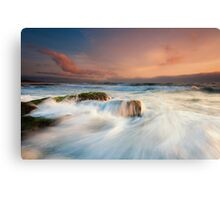 North Wollongong Seascape Canvas Print