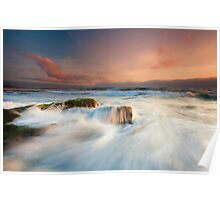 North Wollongong Seascape Poster