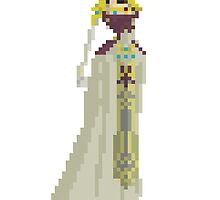 Princess Zelda - 8Bit by izaksmells
