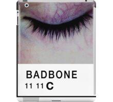 Bad Bone (Pantone) Closed Eyelid 11:11 iPad Case/Skin