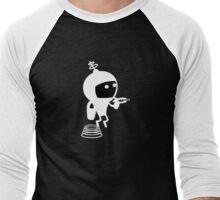 Air Supply - SOS - Sam in Flight Men's Baseball ¾ T-Shirt