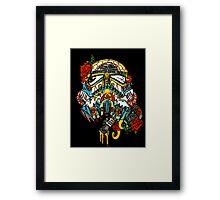 Storm Trooper Sugar Skull Framed Print