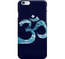 Ohm Ocean Blue iPhone Case/Skin