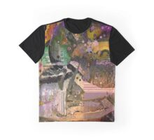 Syrene Abstract Graphic T-Shirt