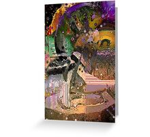 Syrene Abstract Greeting Card