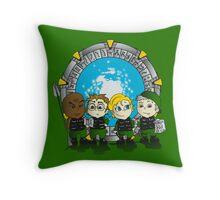 Team SG1 Throw Pillow