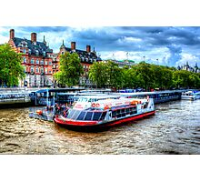 Along The Thames Photographic Print