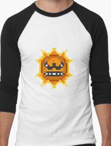 Mario Angry Sun Men's Baseball ¾ T-Shirt