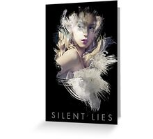 Silent Lies Greeting Card
