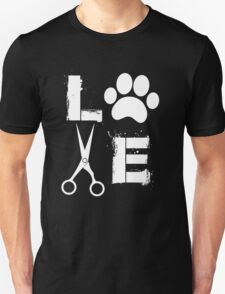 Dog Grooming Love  Unisex T-Shirt