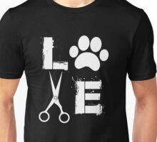 Dog Grooming Love  Unisex T-Shirt