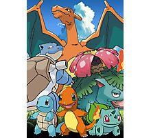 Pokémon 2 evolutions Photographic Print
