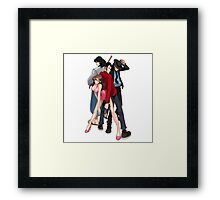 lupin the 3  Framed Print