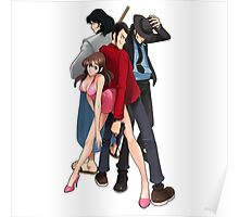 lupin the 3  Poster