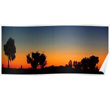 Sunset Central Australia  Poster