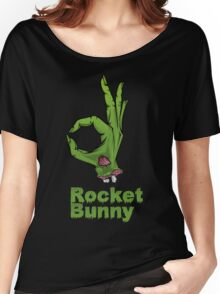 rocket bunny zombie Women's Relaxed Fit T-Shirt