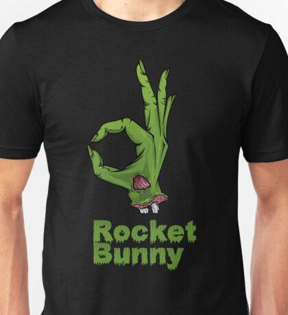 rocket bunny zombie Unisex T-Shirt