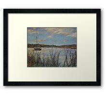 St. Helena Island Framed Print