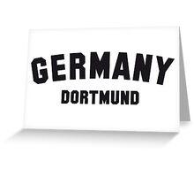 GERMANY DORTMUND Greeting Card