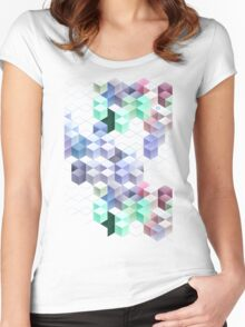 blyckmynt Women's Fitted Scoop T-Shirt
