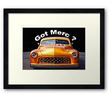 1950 Mercury Custom 'Got Merc?' Framed Print