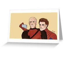 Deadpool & Spider-man Greeting Card