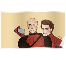 Deadpool & Spider-man Poster