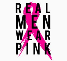 Real Men Wear PINK - Mens Breast Cancer Unisex T-Shirt
