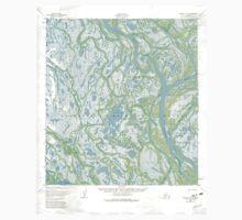 USGS TOPO Map Alaska AK Kwiguk D-5 356946 1952 63360 Kids Tee
