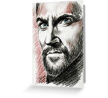 Richard Armitage, John Proctor Greeting Card