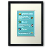 The worlds mightiest heroes... Framed Print
