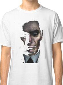 Half-Life 2 G-Man (Only Black) T-shirt Classic T-Shirt