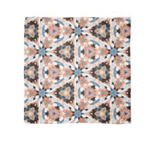 Copper Abstract Kaleidoscope Scarf