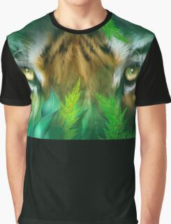 Jungle Eyes - Tiger & Panther Graphic T-Shirt