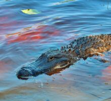 Good Morning Alligator Sticker
