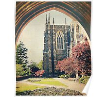 Through the Arch: Duke Chapel Poster
